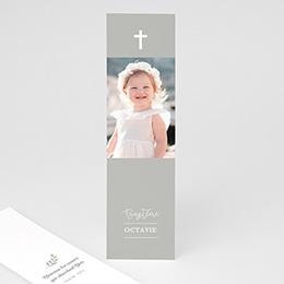 Marque-Page baptême Lumière beige