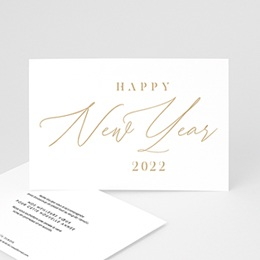Voeux Pro Professionnel Calligraphic Year
