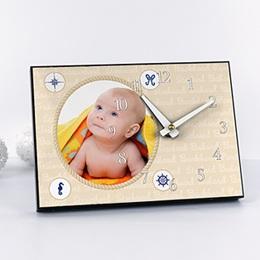Horloge personnalisée Décor Marin