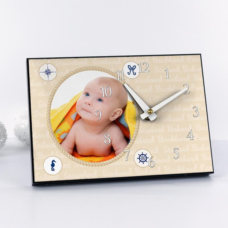 Horloge avec photo - Décor Marin 6816 thumb