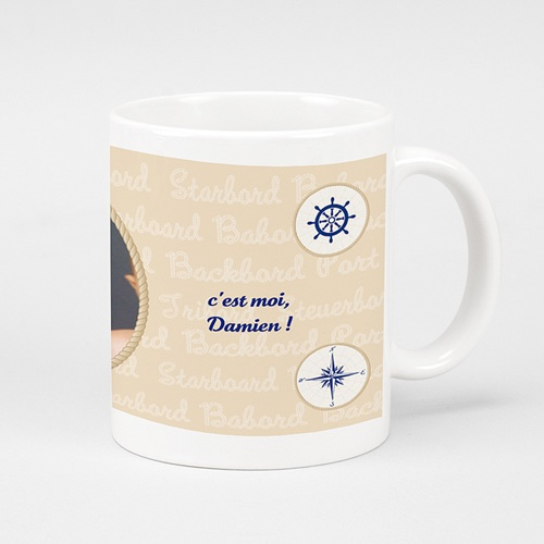 Mug Personnalisé - Bon Port  6818