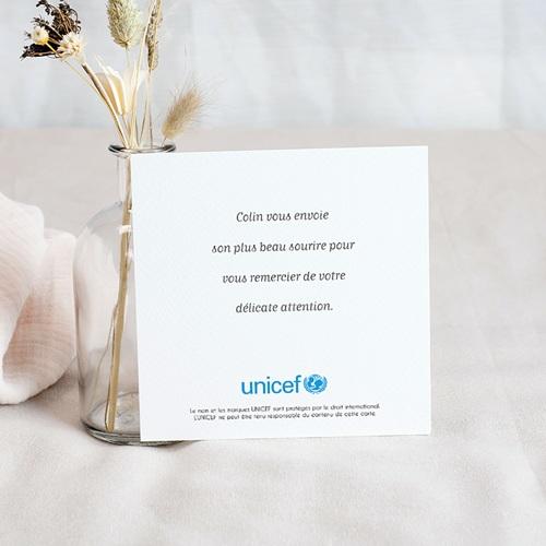 Remerciement Naissance UNICEF Pomme Reinette pas cher
