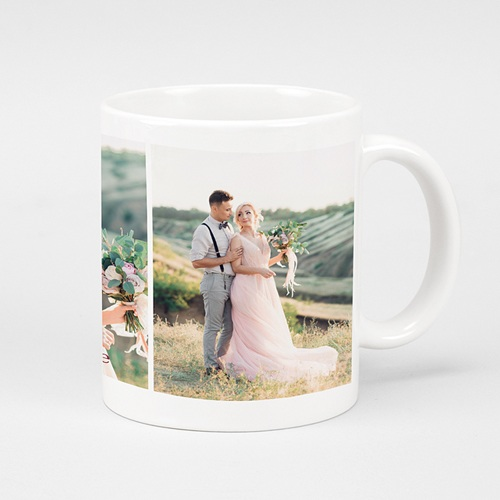 Mug Personnalisé Photo Cheers, 3 photos Mariage