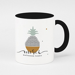 Mug Merci Maitresse Fruit tropical