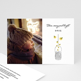 Faire-Part Nouvel An Merry & Bright
