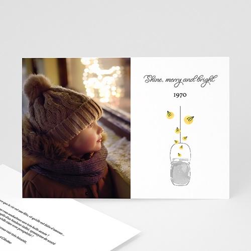 Carte de Voeux Merry & Bright