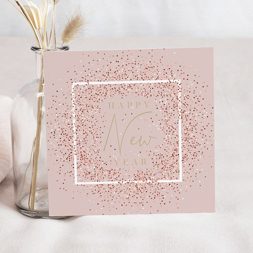 Carte de Voeux Entreprise Tutti Confetti