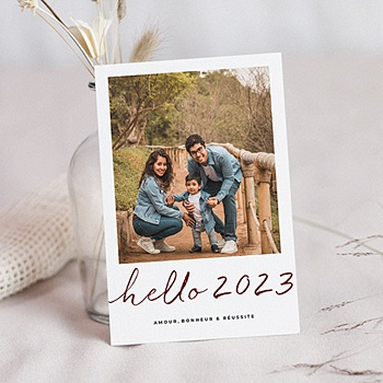Carte de Voeux 2019 - Hello New Year - 0