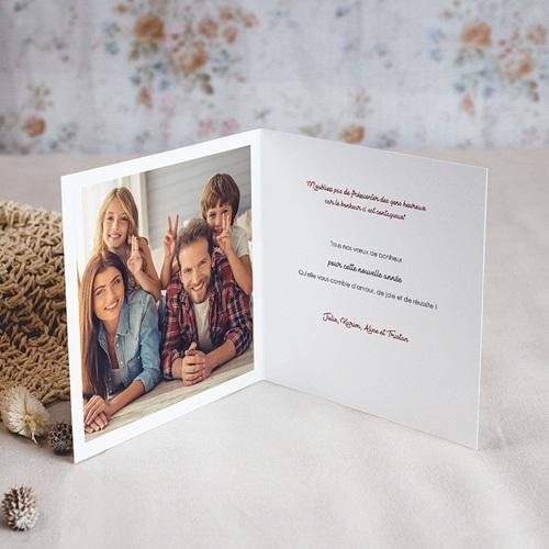 Carte de Voeux Joyeux Noël et bonne année Pétillant pas cher