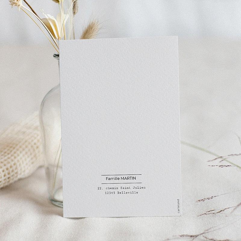 Carte de Voeux Bonne année Journal Familial pas cher