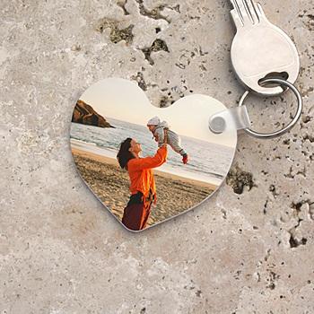 Porte clés personnalisés  - Porte-clés Coeur - 2