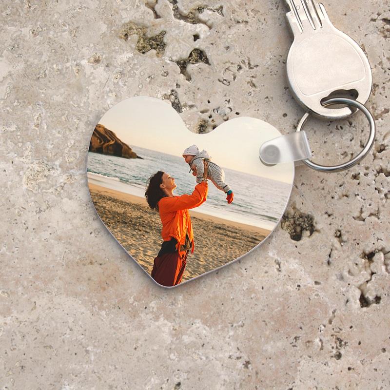 Porte-clés personnalisé Porte-clés Coeur