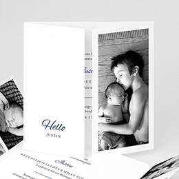 Faire-Part Naissance Hello Welcome
