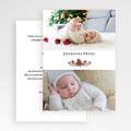 Carte de Voeux Pomme de pin de Noël gratuit
