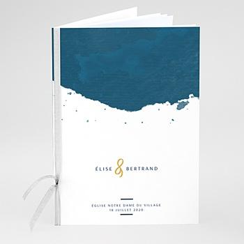 Livret messe mariage L'or bleu