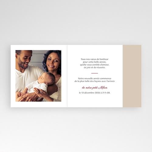 Carte de Voeux Bonne année famille pas cher