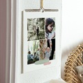 Calendrier Mural multi photo effet aquarelle