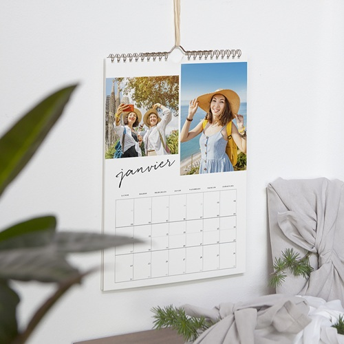 Calendrier Photo 2019 - Typo Brush 68890 thumb