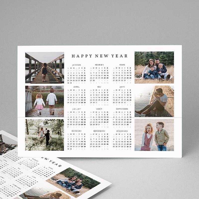 Calendrier Monopage 2020 Photo de famille
