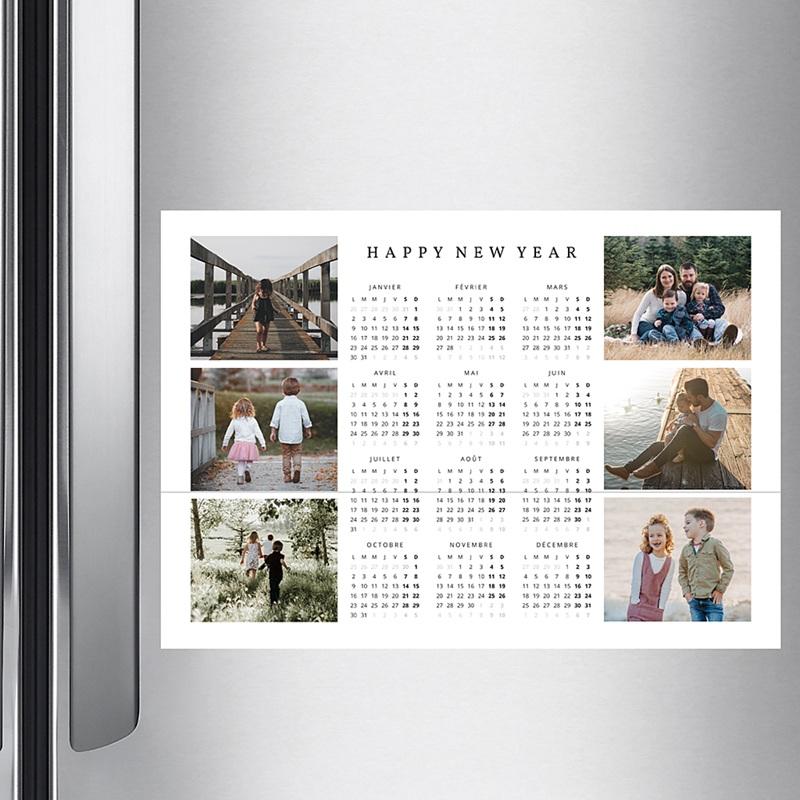 Calendrier Monopage 2020 Photo de famille pas cher