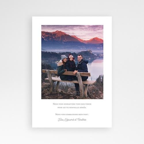 Carte de Voeux 2019 - Sapin Blanc 68939 thumb
