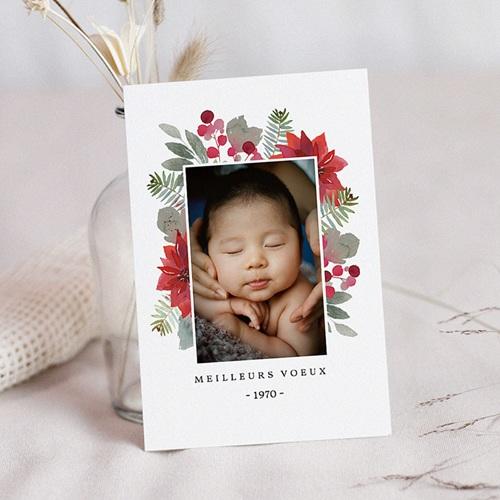 Carte de Voeux Meilleurs voeux Noelle