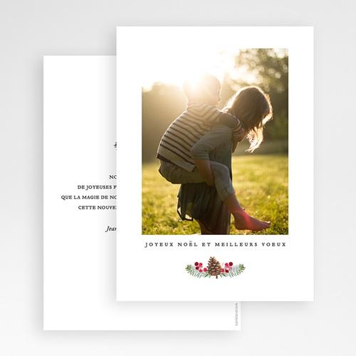 Carte de Voeux Joyeux Noël et meilleurs voeux Branch Out gratuit