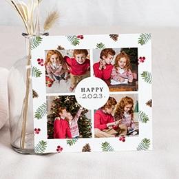 Voeux Nouvel An Photos et Forêt