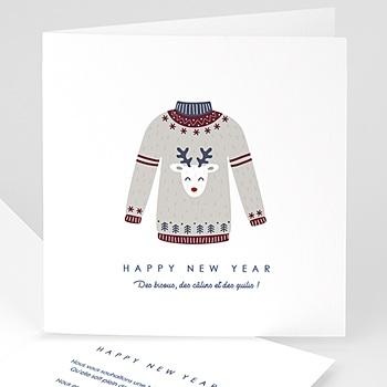 Carte de Voeux 2019 - Pull de Noel - 0