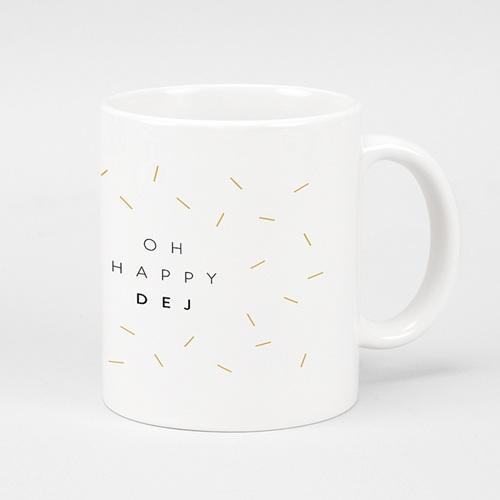 Mug Personnalisé Noël Happy Dej