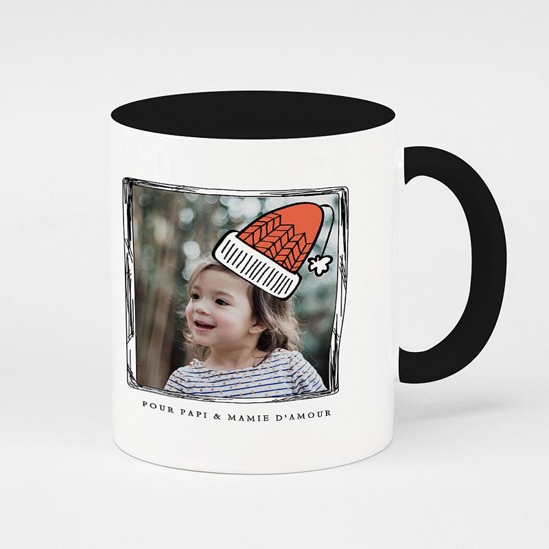 Mug Personnalisé Noël Bonnet tricoté