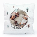 Coussin Personnalisé Photo Merry and Happy