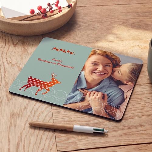 Tapis de souris personnalisé - Renne étoilé 6910 thumb