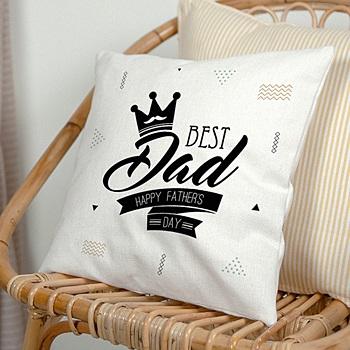 Créer soi même coussin personnalisé best dad