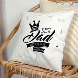 Coussin Fête des pères Best Dad