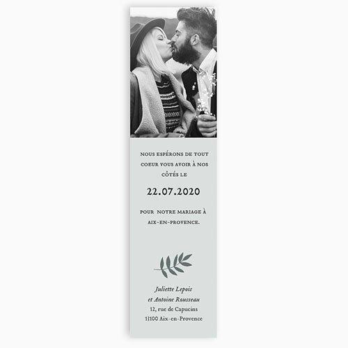 Save The Date Mariage Anémones gratuit
