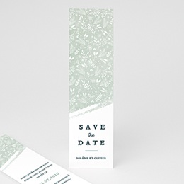 Save the date mariage Moisson de printemps