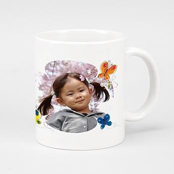 Mug L'effet papillon à personnaliser
