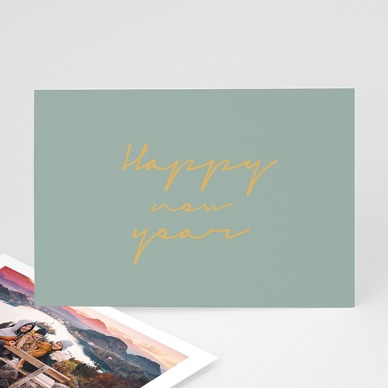 Carte de Voeux Happy New Year design