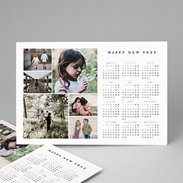 Calendrier Monopage - Family Pictures - 0