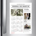 Calendrier Monopage Journal de l'Année pas cher