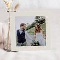 Carte Remerciement Mariage sans Photo Lavande pas cher