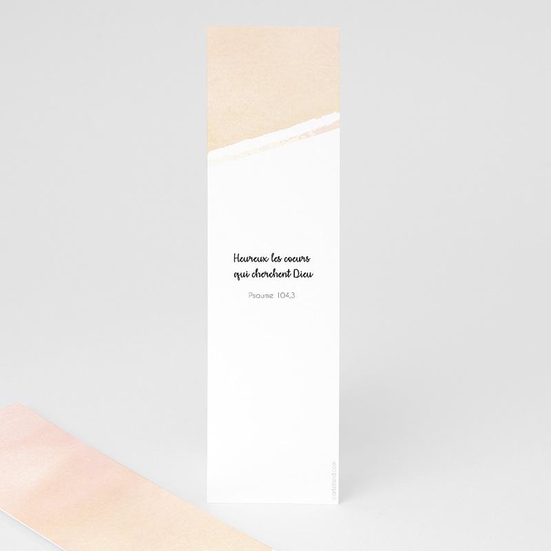 Marque-Page Aquarelle dorée pas cher