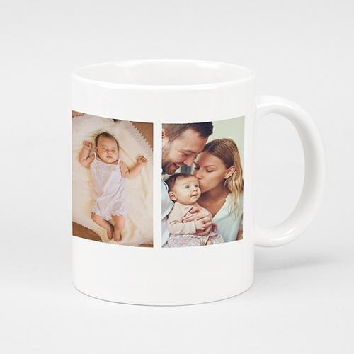 Mug personnalisé photo La ronde des photos