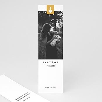 Marque-Page - Croix et Or - 0