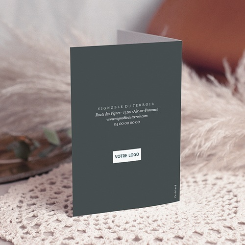 Carte de Voeux Entreprise Cépage gratuit