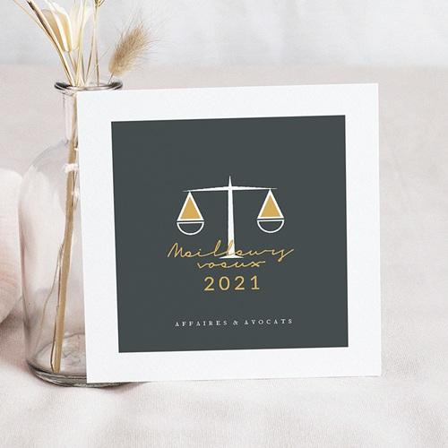 Carte de Voeux Entreprise Justitia