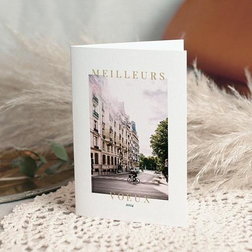 Carte de Voeux Professionnelle - Métier de l'immobilier 69905 thumb