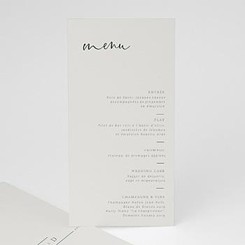 Menu de Mariage - Eucalyptus - 0