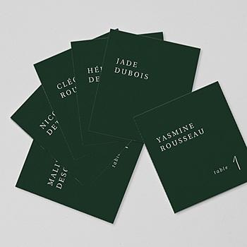 Marque Table Mariage - Eucalyptus - 0